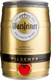 Warsteiner Party fust 5 liter