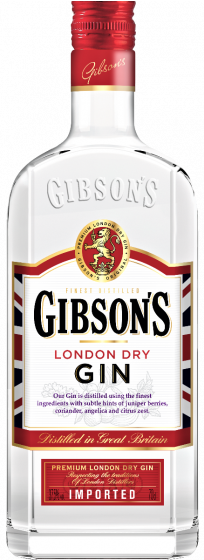 Gibson's gin fles 70 cl