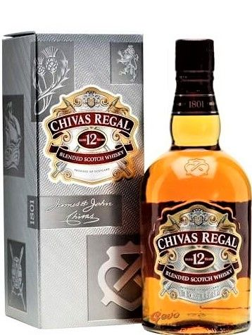 Chivas Regal 12 Years Whisky fles 70cl