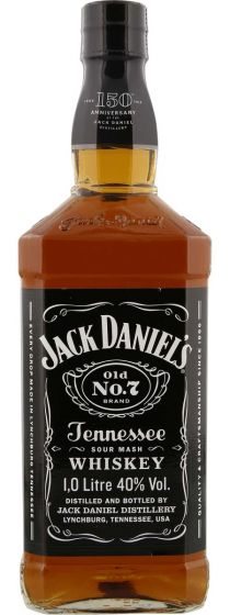 Jack Daniel's Tennessee Bourbon Whisky Fles 1 Liter