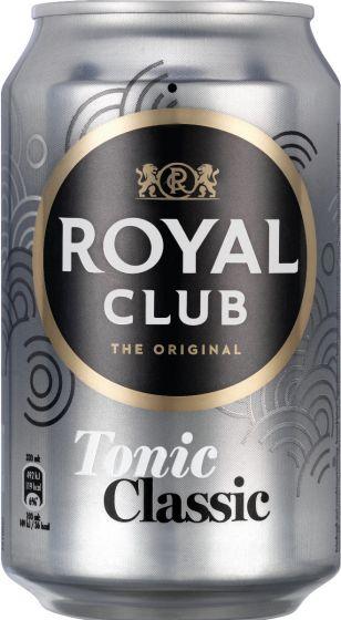 Royal Club Tonic NL Blik tray 24x330 ml