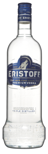 Eristoff vodka Fles 1 liter goedkoop wodka