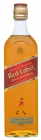 Johnnie Walker Red Label 40% Fles 1L