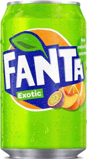 Fanta Exotic Blik tray 24x33cl