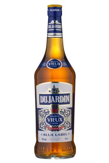 Du jardin Vieux blue fles 1 liter sterke drank