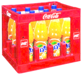 Fanta Orange Krat 12 x 1 Liter
