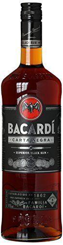 Bacardi Carta Negra Black Rum Fles 1 Liter