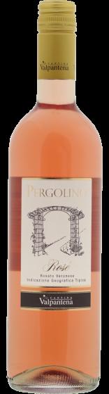 Pergolino Italiaanse Rose wijn fles 75cl