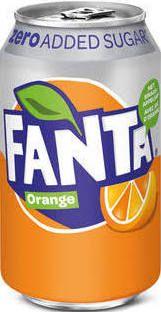 Fanta Orange ZERO Nederlandse Blikken