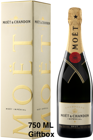 Moet & Chandon Brut Champagne Giftbox 75cl