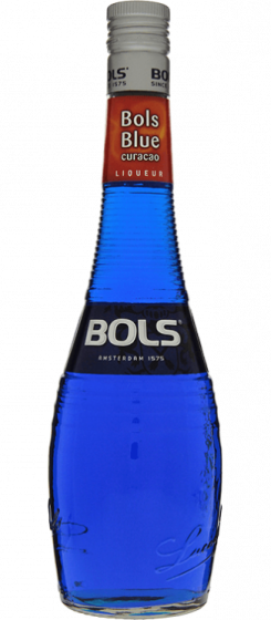 Bols Blue Curacao Likeur Fles 70cl