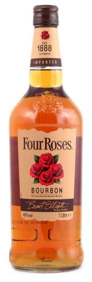 Four Roses Bourbon Whisky Fles 1 Liter