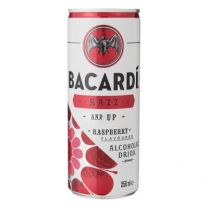 Bacardi Razz & 7up Tray 12 x 25cl ready to drink blikjes premix