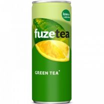 Fuze tea Green tea blik Tray 24x25cl