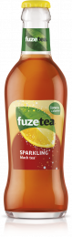 Fuze tea Sparkling Black tea krat 24x20cl