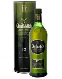 Glenfiddich 12 Year Single Malt Whisky in Giftbox