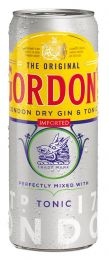Gordon's Gin & Tonic premix Tray 12x25cl Blikjes ready to drink