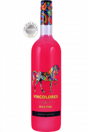 Vincolores Ibiza Pink party wine fles 75cl