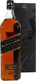 Johnnie Walker Black Label Whisky Fles 1 Liter