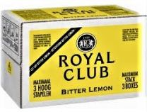 Royal Club Bitter Lemon postmix