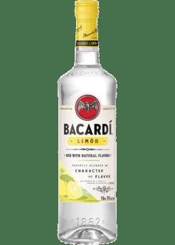 Bacardi Limon Rum Fles  1 liter goedkoop bacardi