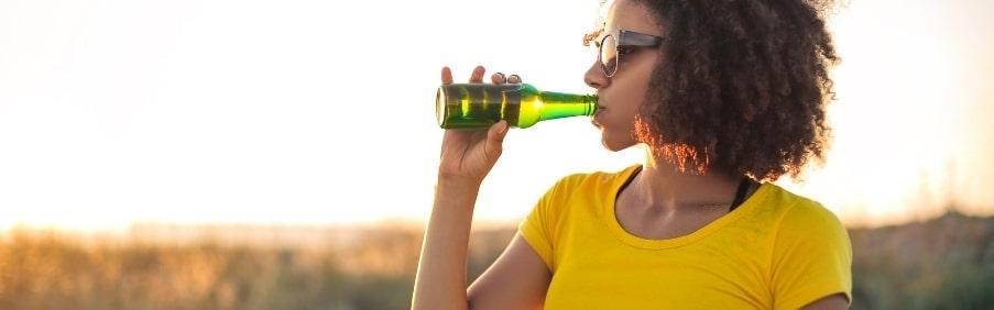 0.0 bier drinken