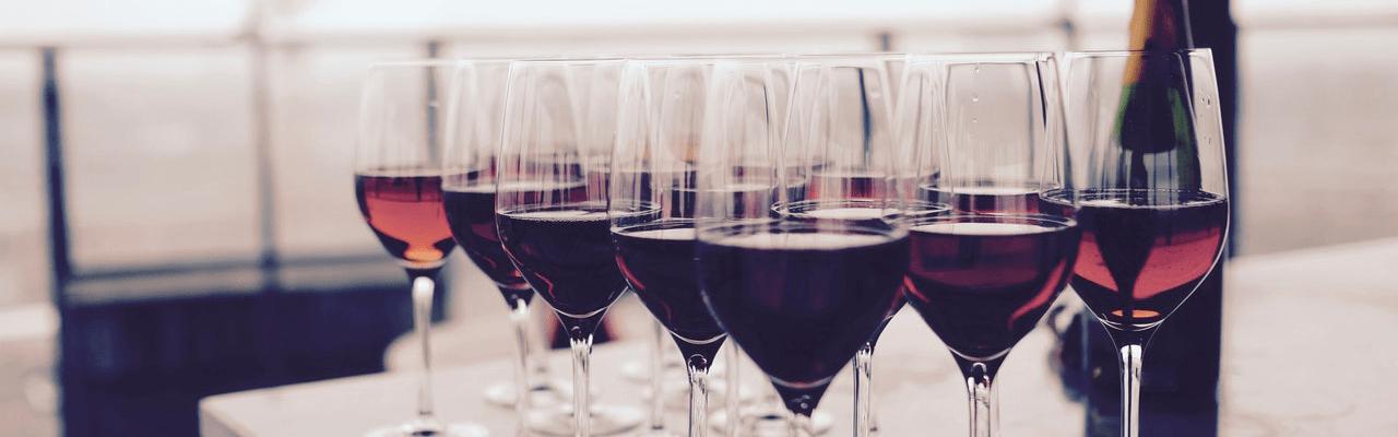 Rode Wijnsoorten merlot en cabernet sauvignon